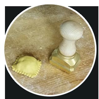 Stampo rettangolare dentellato